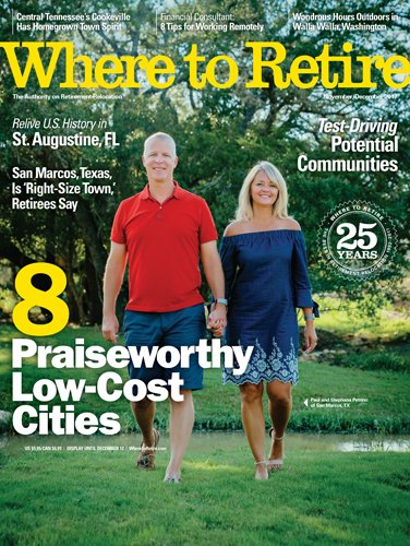 Where to Retire magazine cover