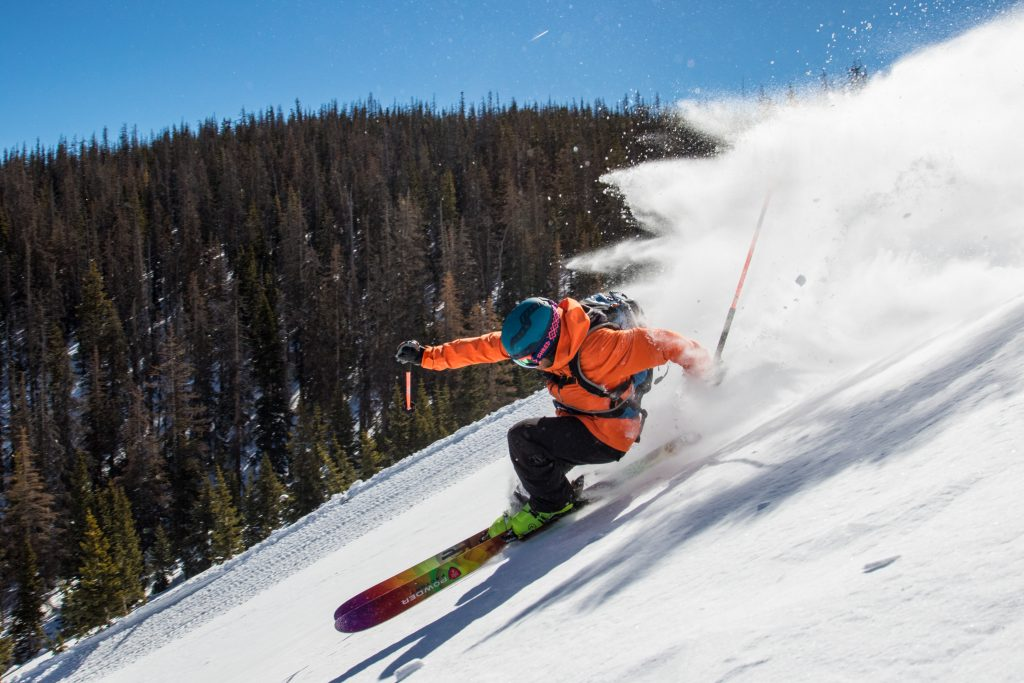 Cat Skiing at Monarch, Colorado - Photographer: Casey Day