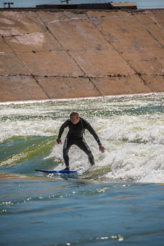 River surfing Pueblo